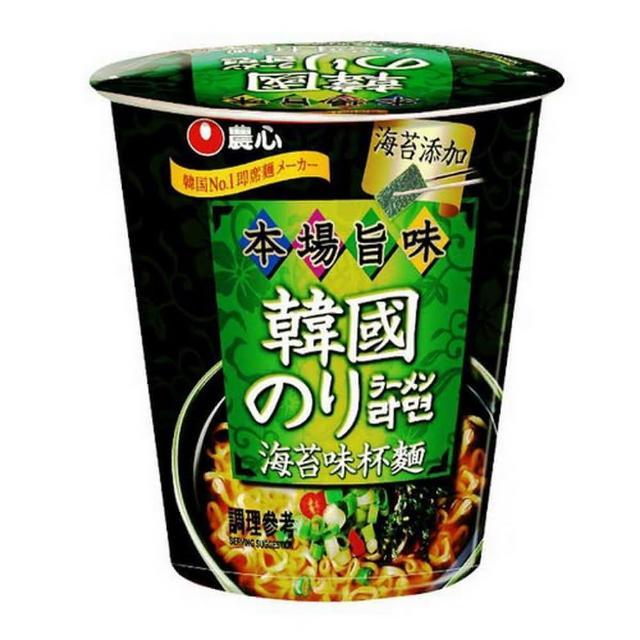 【NONG SHIM】農心 海苔味杯麵(65g)