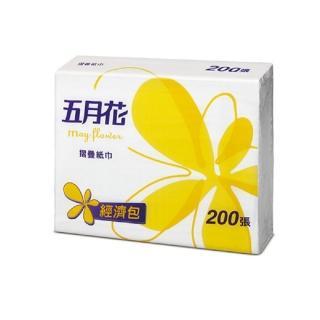 【五月花】摺疊紙巾擦手紙(200張x20包)