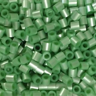 【Perler 拼拼豆豆】1000顆單色補充包-102珠光青竹(特殊色)