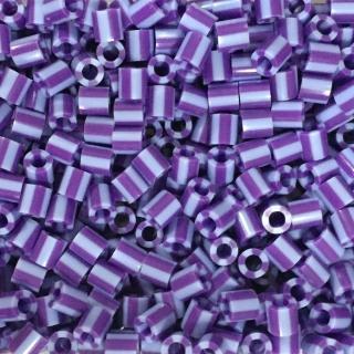 ~Perler 拼拼豆豆~1000顆單色補充包~110葡萄條紋^(特殊色^)