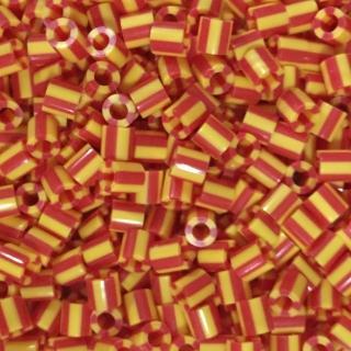 【Perler 拼拼豆豆】1000顆單色補充包-112煙火條紋(特殊色)