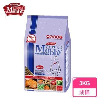 【莫比Mobby】挑嘴成貓/饕客配方(3公斤)