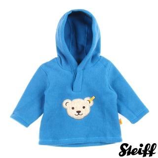 【STEIFF德國精品童裝】長袖 連帽 上衣 藍(長袖厚棉)