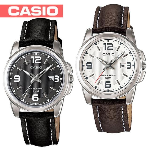 【CASIO 卡西歐】送禮首選-甜美氣質淑女腕錶(LTP-1314L)