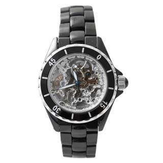 【Valentino范倫鐵諾】自動上鍊機械精密全陶瓷腕錶 雙面鏤空手錶(玖飾時尚NE1119)