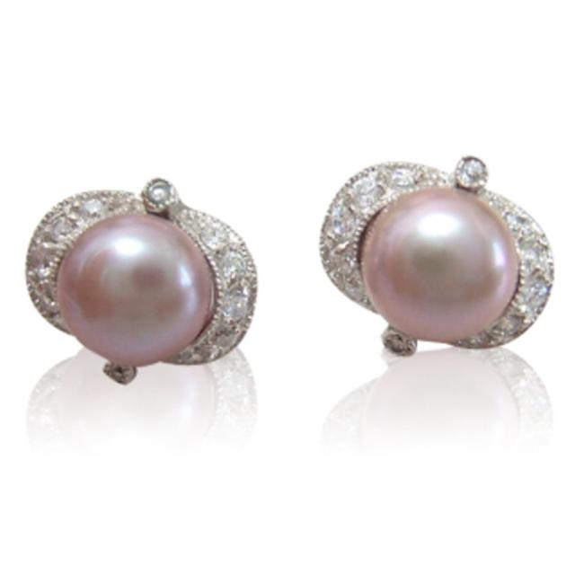 【小樂珠寶】頂級天然珍珠耳環