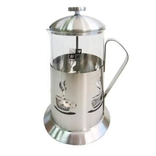 【妙管家】特級不鏽鋼沖茶器-700ml-2入組