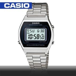 【CASIO 卡西歐】日系- 復古風經典錶款 鏡面3.5cm(B640WD)