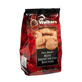 【Walkers】蘇格蘭皇家迷你圓形奶油餅乾125g
