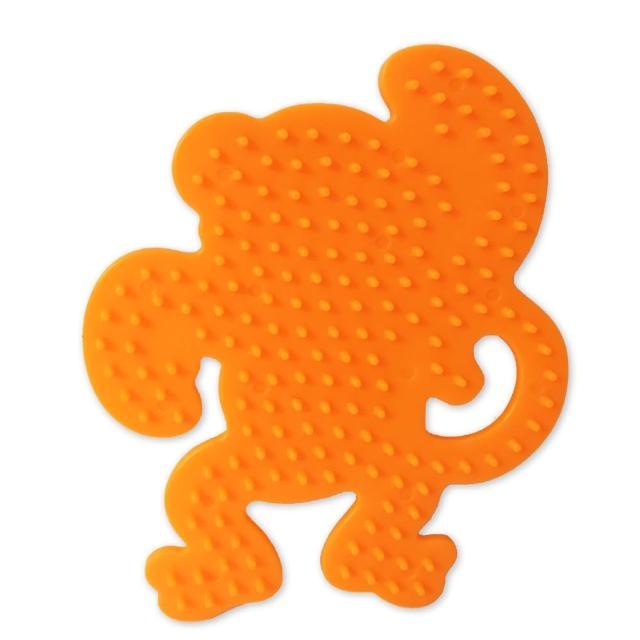 【Perler 拼拼豆豆】一入彩色造型模型板(猴子)