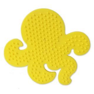 【Perler 拼拼豆豆】一入彩色造型模型板(章魚)