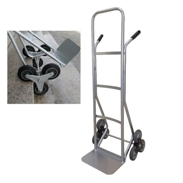 【COLOR】輕型爬梯鐵製手推車(6輪