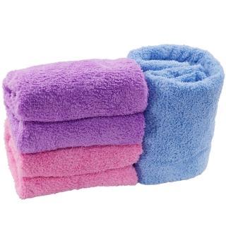 OMAX超吸水長絨毛大浴巾-2入(150*75cm)