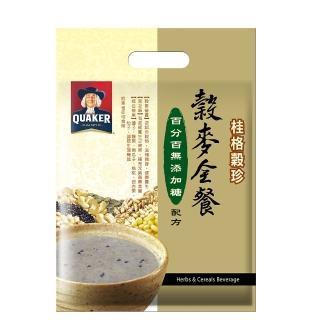 【桂格】無添加糖穀麥全餐穀珍25g*12入