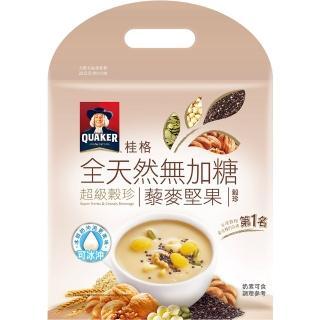 【桂格】黃金穀麥超級穀珍-無糖25g*10入