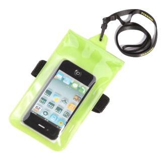 【正品Tteoobl】T-06C 智慧型手機耐壓10米防水袋 5.5吋/臂掛式(綠)