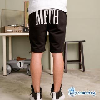 【Dreamming】韓系潮流METH膠印棉質短褲