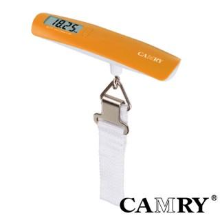 【CAMRY】玩色輕化數位行李秤(橘色)
