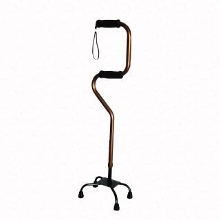 【舞動創意】仲群維醫療用手杖-未滅菌-鋁合金四腳拐助行器雙手握把手杖-GT40061