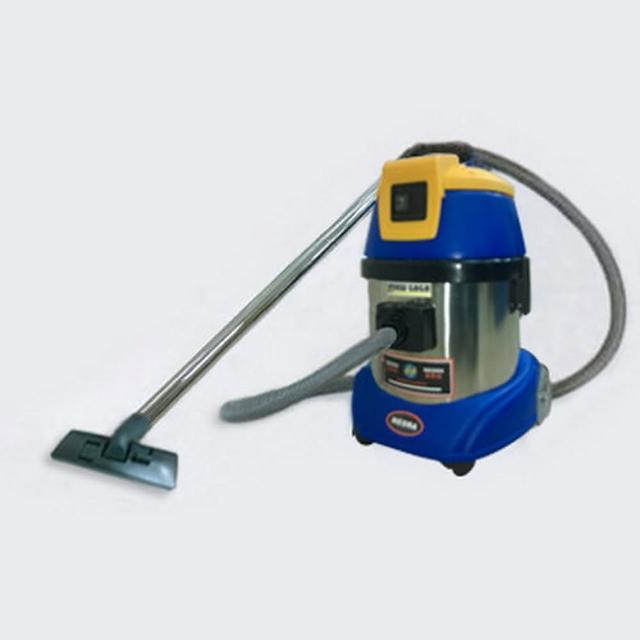【台灣品牌 尼歐拉】4加侖乾濕兩用吸塵器AS-150(黃藍)