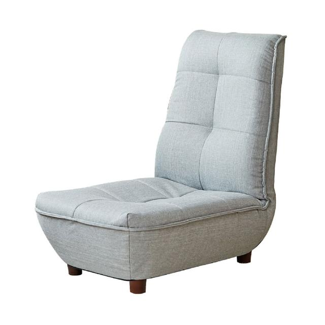【伊登沙發床】『格菲低沙發單人座椅』落地式沙發床