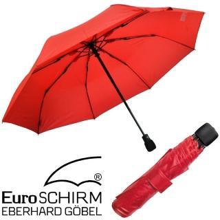 【德國 EuroSCHIRM】LIGHT TREK AUTOMATIC 高彈性抗鏽自動傘(3032 紅)