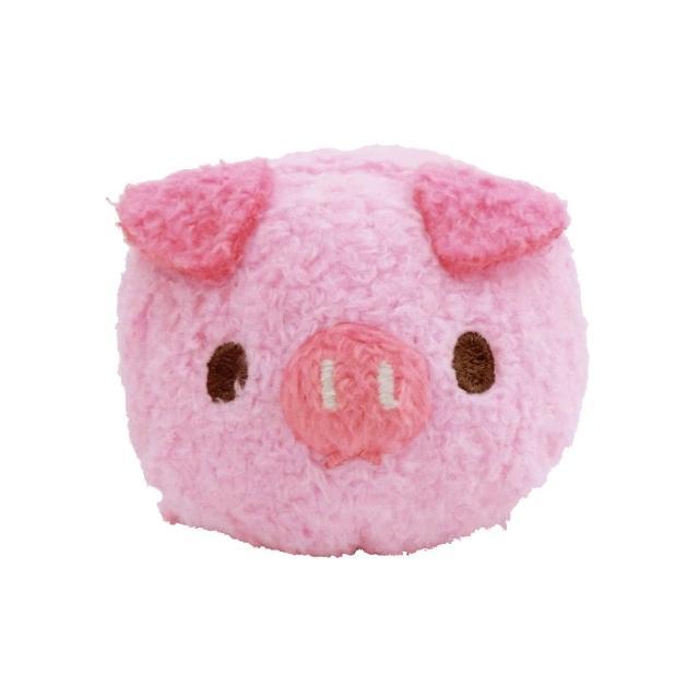 【UNIQUE】動物樂園公仔螢幕擦護腕墊(粉紅豬)
