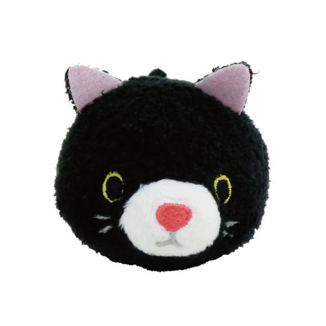 【UNIQUE】動物樂園公仔螢幕擦護腕墊(小黑貓)