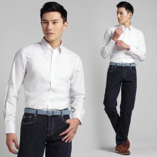 【極品西服】暗式領角釦‧Royal Mix商務襯衫 白(SW301-80)