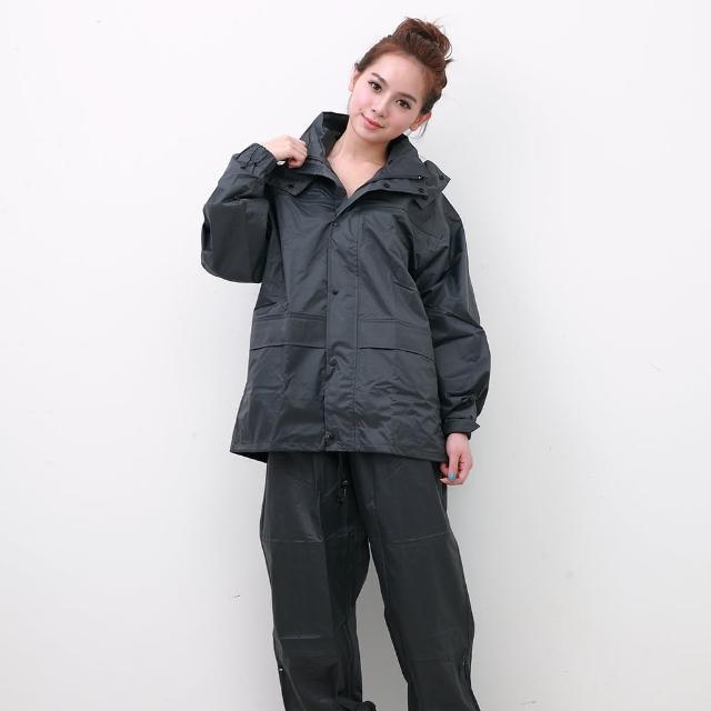 【OutPerform雨衣】風雨衣兩件式 - 超人氣日本款-橄欖灰(機車雨衣、戶外雨衣)