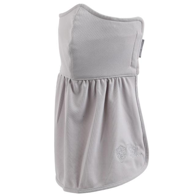 【Vital Silver 銀盾】VITAL COOLDRY 抗UV防曬口罩透氣護頸-2入(淺灰)