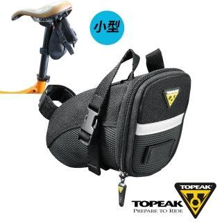 【TOPEAK】Aero Wedge Pack Small小後座墊袋-黑