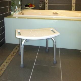 【COLOR】霧面鋁合金洗澡椅(免工具組裝)