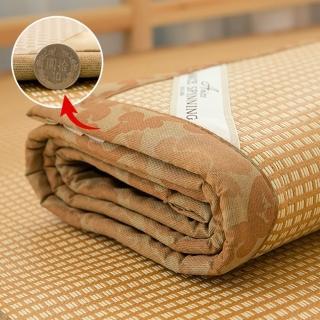 【A-nice】台灣精製.頂級軟藤蓆.3D透氣網.1CM加厚款.涼爽細緻.不夾髮(單人/3.5呎)