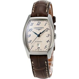 【LONGINES】Evidenza 典藏機械腕錶(L21424732)