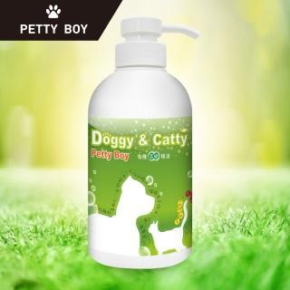 【Petty Boy】草本有機茶樹寵物沐浴組(清爽驅蚊2入體驗組)