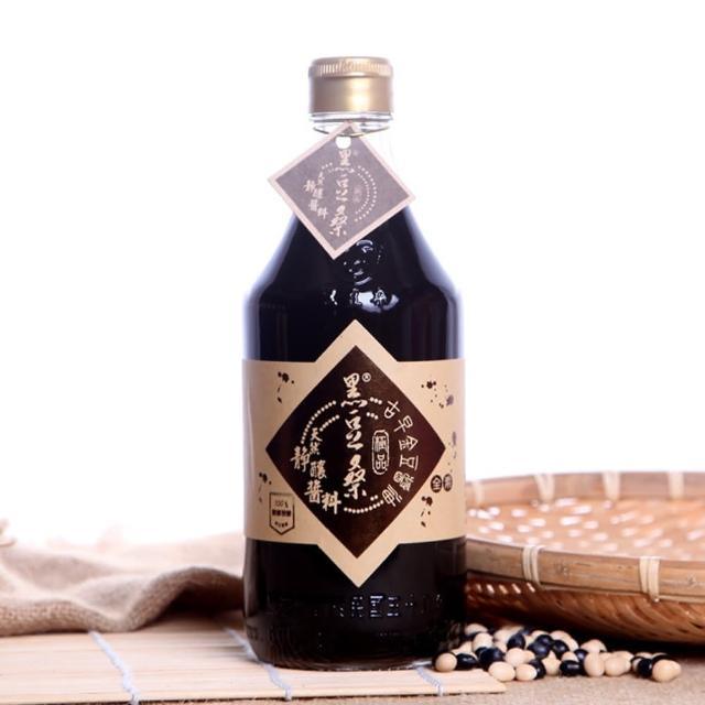 【黑豆桑】天然極品古早金豆醬油(x 1)