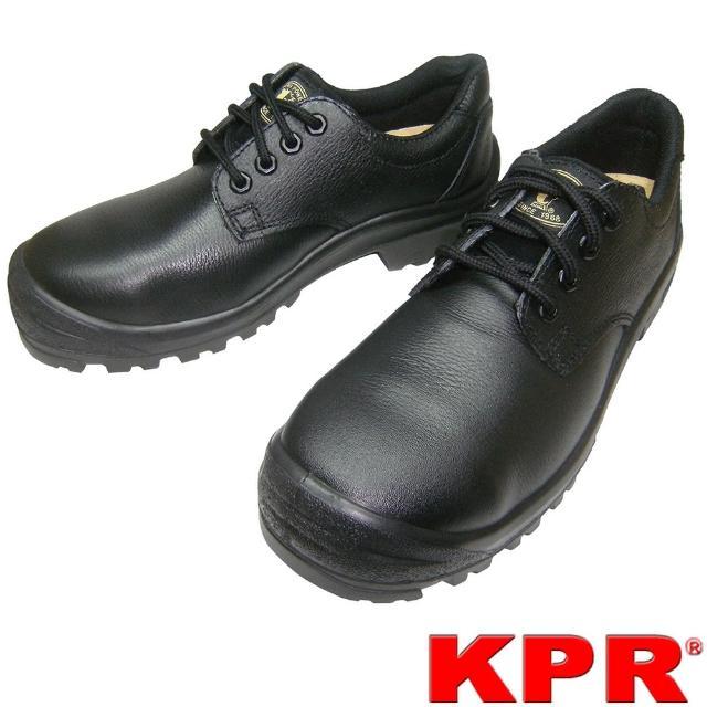 【KPR尊王】寬頭大底耐熱安全鞋(M-018黑色/男女款)