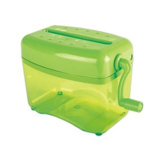 【ABEL力大牌】直條型手動式碎紙機(青蘋綠)