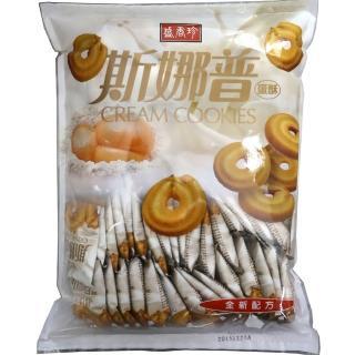 【盛香珍】斯娜普奶酥600g(包)