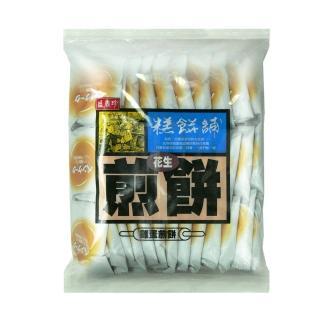 【盛香珍】花生煎餅600g/包(約35-38小包入)