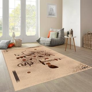 【范登伯格】拉古那★抽象個性風地毯-星辰(160x230cm)
