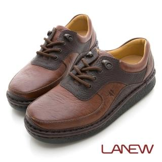 【La new】雙密度PU氣墊休閒鞋(男208012239)