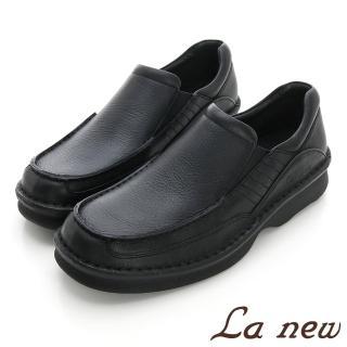 【La new】三密度PU氣墊休閒鞋(男216015431)