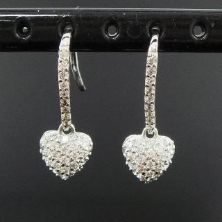 【Celosa名品-】心美晶鑽耳環