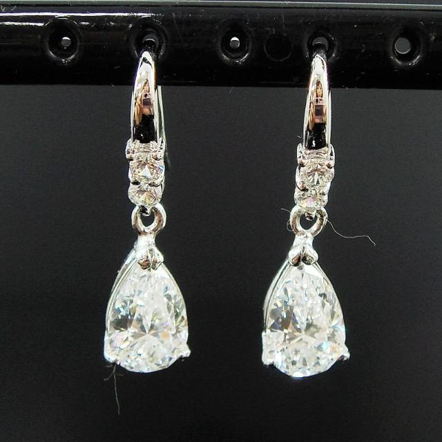 【Celosa名品-】簡單美晶鑽耳環