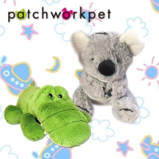 【Patchworkpet】可愛動物造形絨毛娃娃(15吋)