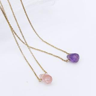 【Dogeared】美國品牌Healing Gems金色療癒寶石項鍊(多色)
