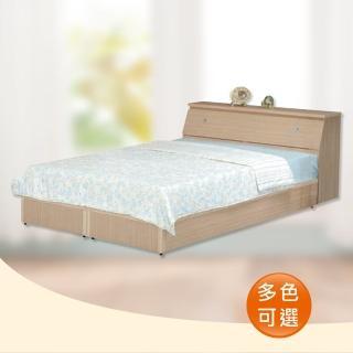 【時尚屋】Terry5尺床箱型雙人床-可選色(WG-5setb只含床頭箱-床底-不含床墊)