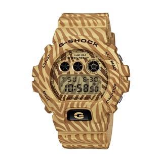 【CASIO 卡西歐 G-SHOCK 系列】日系版-斑馬紋經典款系列(DW-6900ZB)